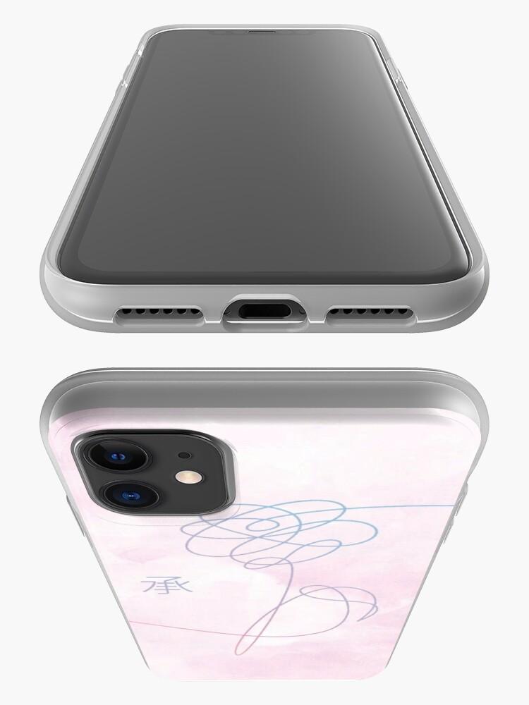 Alternative Ansicht von BTS Aquarell Liebe dich iPhone-Hülle & Cover