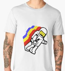 lego spaceman torso retro electric boogaloo.  Men's Premium T-Shirt