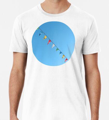 Bunte und minimale Party Premium T-Shirt