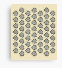 Metatron`s Cube Pattern Canvas Print