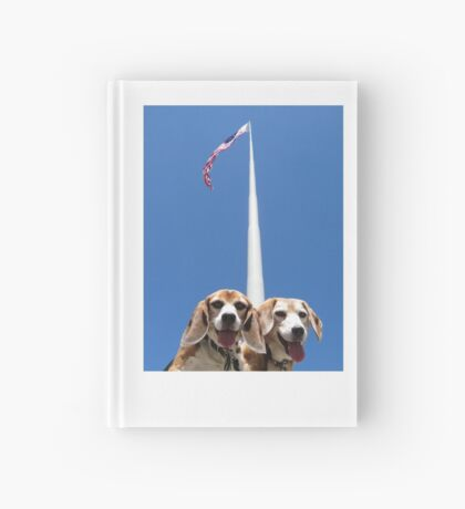 Unsurmountabeagle Hardcover Journal