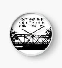 One tree hill- Bridge Clock