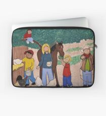 rural scene Laptop Sleeve