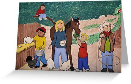 rural scene by odspouse