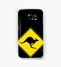 Kangaroo Crossing Samsung Galaxy Case/Skin