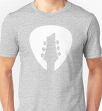 Guitar Headstock - White T-Shirt