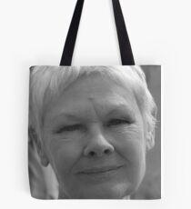 Dame Judi Dench number 4 Tote Bag