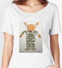 Mr Foxy British Army Women's Relaxed Fit T-Shirt
