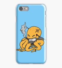 Scalawag The Octopus - Yellow iPhone Case/Skin