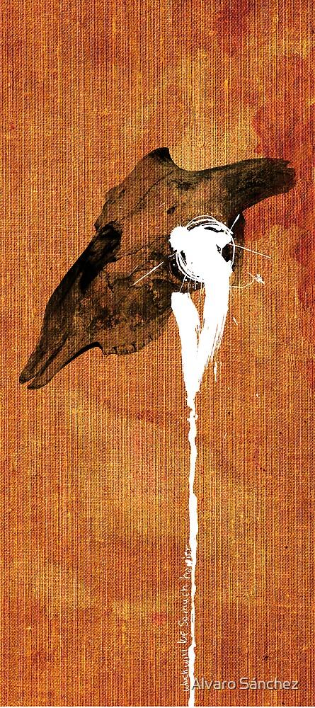 SLEEP PARALYSIS SYNDROME OF A CHRONIC INSOMNIAC TAXIDERMIST by Alvaro Sánchez