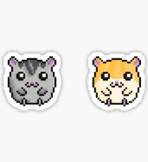 Cute Hamsters!  Sticker