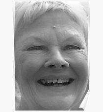 Dame Judi Dench number 5 Poster