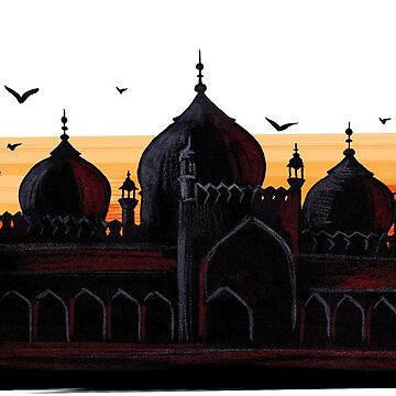 Badshahi Mosque - Islamic Art by jomeeo