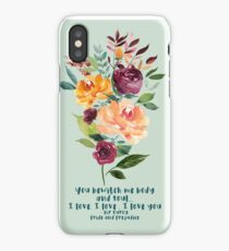 You bewitch me - Jane Austen iPhone Case/Skin
