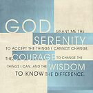 Serenity Prayer II by Dallas Drotz