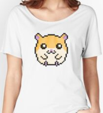 Cute Hamster! (Sandy Coloured) Women's Relaxed Fit T-Shirt