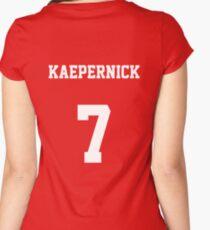 Colin Kaepernick - 7 Women's Fitted Scoop T-Shirt