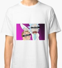 vaporwave rick and morty  Classic T-Shirt