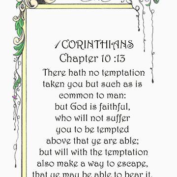 1 CORINTHIANS10:13 by Celinda