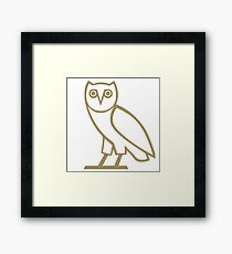 OVO Owl Framed Print