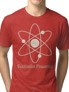 Eucharist Powered (T-Shirt) Tri-blend T-Shirt