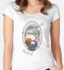 Munch Munch! Women's Fitted Scoop T-Shirt