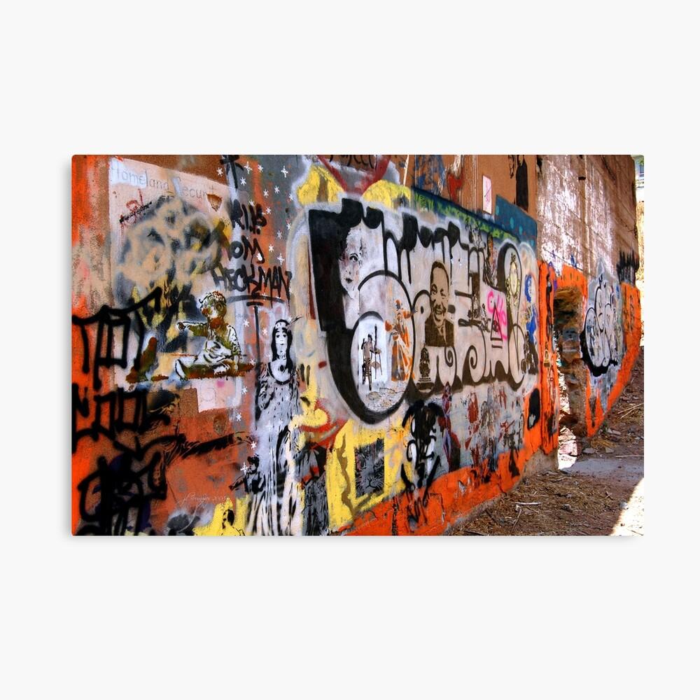 Urban Art Gallery Canvas Print