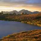 Cottonwood Pass sunset by Paul Gana