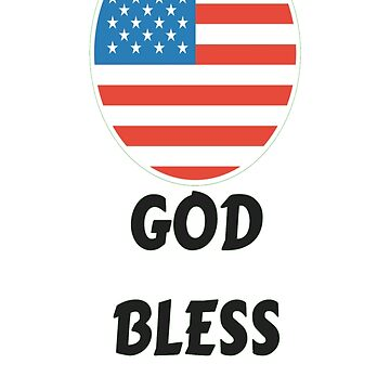 GOD BLESS AMERICA T-SHIRT by RogueNation