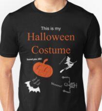 Halloween Costume Sarcastic T-Shirt