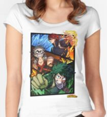 Boku no hero Academia - My hero Academy Women's Fitted Scoop T-Shirt
