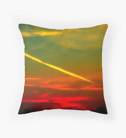 rosso di mattina  Throw Pillow