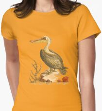 The Pelican  Bird HD vintage image from encyclopedia number  4 T-Shirt
