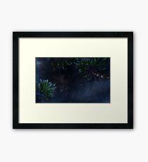 Starry Night Video Game Framed Print