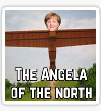 Angela Merkel Sticker
