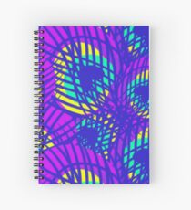 EXPERIMENTAL Feathery Spiral Notebook