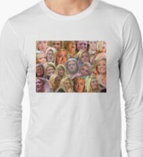 THE MANY MOODS OF GEMMA COLLINS  Long Sleeve T-Shirt