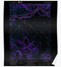 USGS TOPO Map Idaho ID Heise SE 236464 1951 24000 Inverted Poster