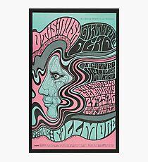 1967 Otis Rush & Grateful Dead Psychedelic Concert Poster Photographic Print