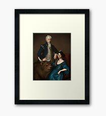 The House of de Rolo Framed Print