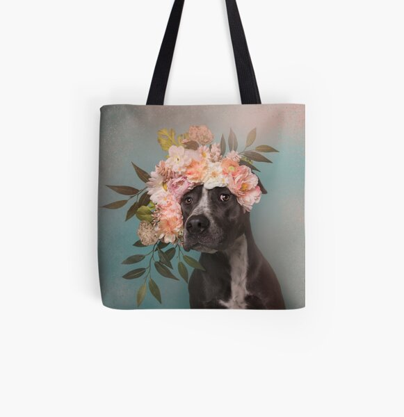 Flower Power, Max 2 All Over Print Tote Bag