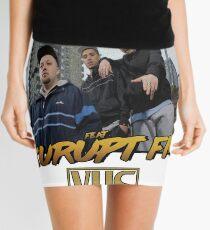 PEOPLE JUST DO NOTHING KURUPT FM VINTAGE TEE Mini Skirt