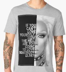 Ru Paul Text Portrait Men's Premium T-Shirt