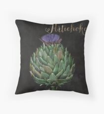 Medley Artichoke Throw Pillow