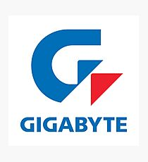 Gigabyte Photographic Print