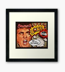 Donald J. Trump Terrific Comic Book Campaign Framed Print