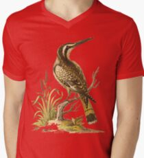 Black and White King Fisher HD vintage image from encyclopedia number 6 T-Shirt