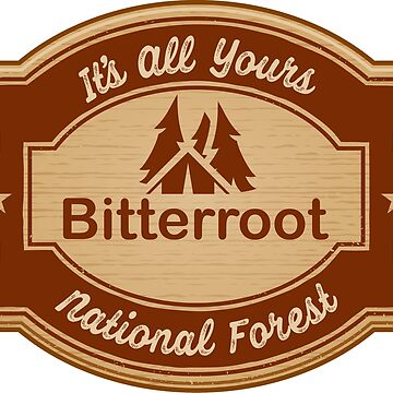 Bitterroot National Forest by ginkgotees