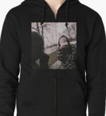 Midnight // suicide boys Zipped Hoodie