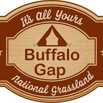 Buffalo Gap National Grassland by ginkgotees